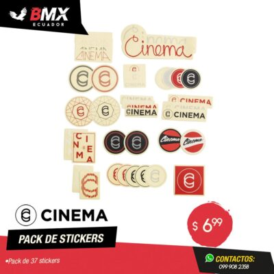 PACK DE STICKERS CINEMA