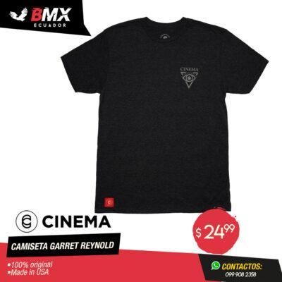 CAMISETA CINEMA «GARRETT REYNOLDS»