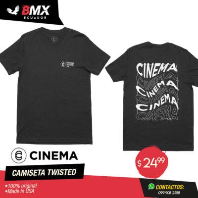CAMISETA CINEMA «TWISTED»