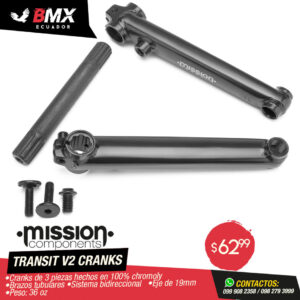 "CRANKS MISSION ""TRANSIT V2"" (Bidireccionales)"