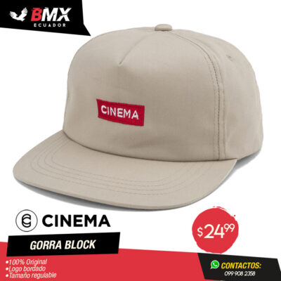 GORRA CINEMA «BLOCK»