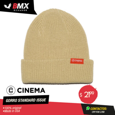 GORRO CINEMA «STANDARD ISSUE»