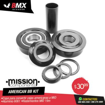 AMERICAN BB KIT MISSION 22mm