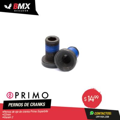 PERNO DE CRANKS PRIMO «SUPERBITE»