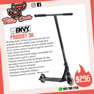 """SCOOTERS ENVY """"PRODIGY S8"""" STREET"""