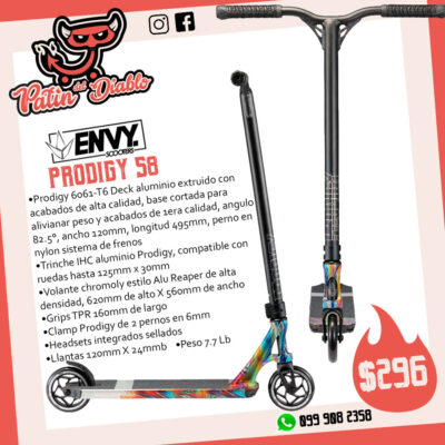 """SCOOTERS ENVY """"PRODIGY S8"""" SWIRL"""