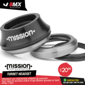 "HEADSETS MISSION ""TURRET"""