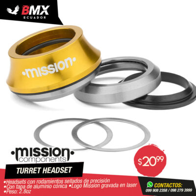"HEADSETS MISSION ""TURRET"""