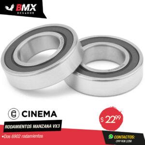 RODAMIENTOS MANZANA VX3 CINEMA