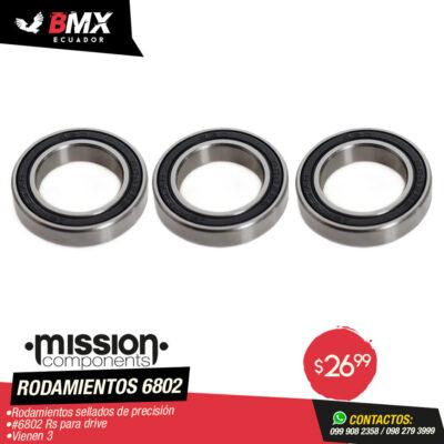 RODAMIENTO 6802 MISSION