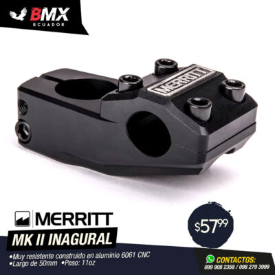 "STEM MERRITT ""MK II INAGURAL"""