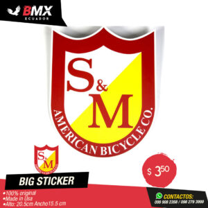BIG STICKER S&M