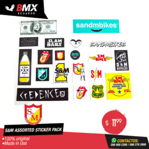 ASSORTED STICKER PACK S&M