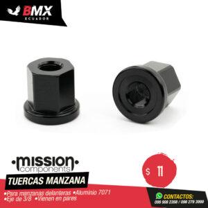 TUERCAS DE MANZANA MISION