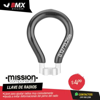 LLAVE DE RADIOS MISSION