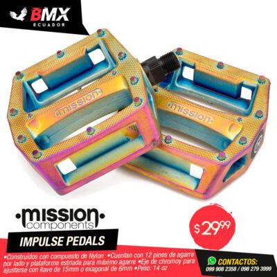 """PEDALES MISSION """"IMPULSE"""" OIL SLICK"""