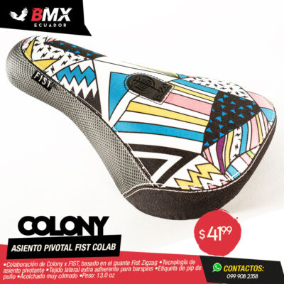 ASIENTO COLONY PIVOTAL FIST COLAB