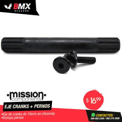 EJE DE CRANKS MISSION