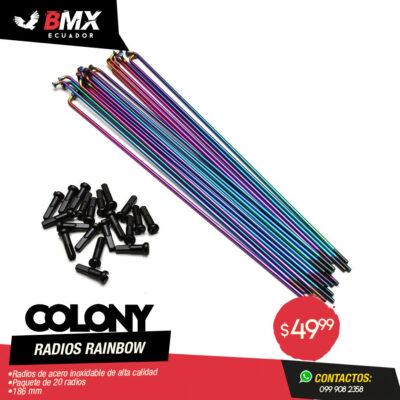 RADIOS COLONY RAINBOW