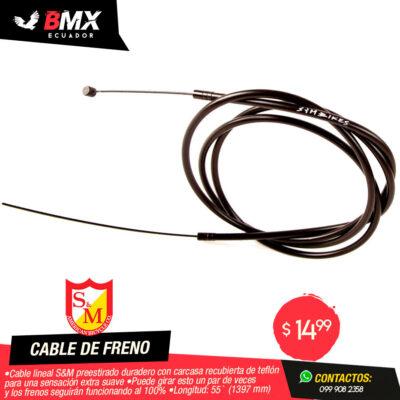 CABLE DE FRENO S&M